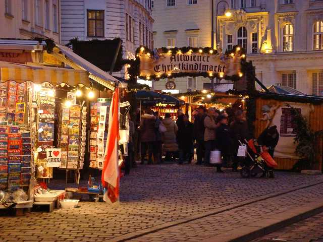 Old Viennese Christmas Market Freyung