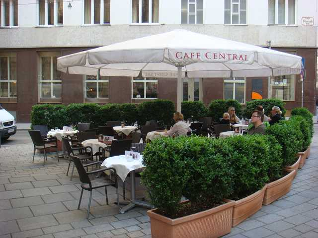 Cafe Central Terrace