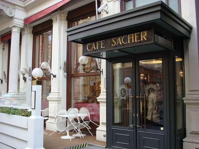 Sacher Cafe Salzburg Menu
