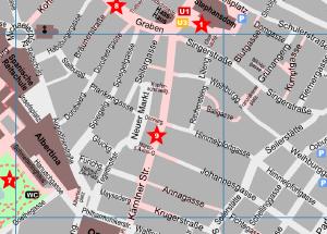 K 228 Rntner Strasse Vienna Pedestrian Zone