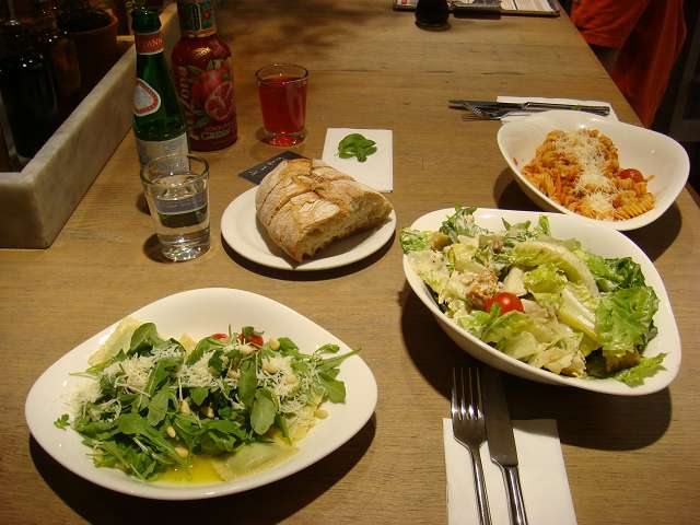 Salate restaurant wien
