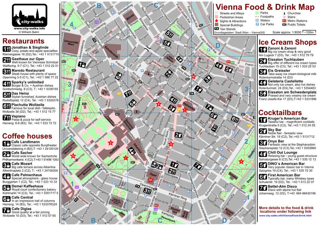 Best Restaurants In Vienna Austria - Vienna austria on world map