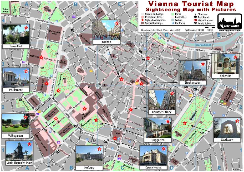 Vienna City Map Download